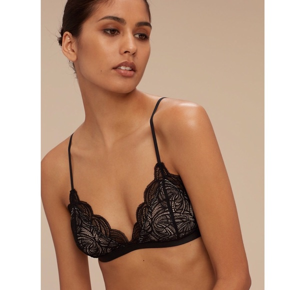 72a48ef3aeb01 Aritzia Other - Aritzia Wilfred Monterey Lace Bralette Size Small